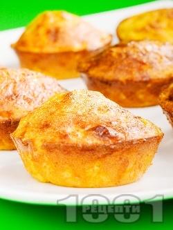Царевични питки ТЕКС-МЕКС със сирене чедър - снимка на рецептата